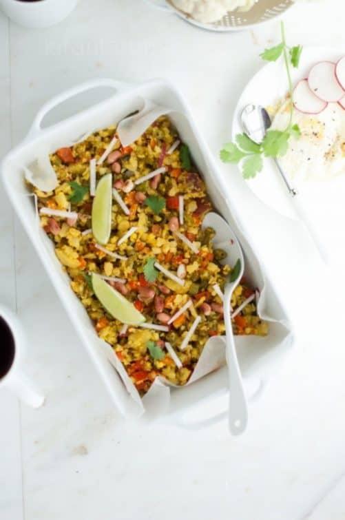 Cauliflower Fried Rice Kirin Tarun