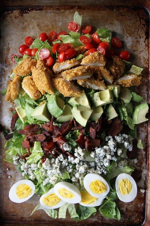 Fried Chicken Cobb Salad|Heather Christo