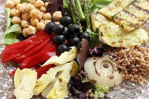Mediterranean Grilled Vegetable Salad