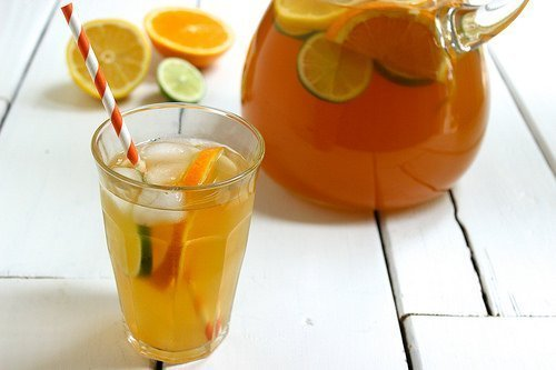Citrus Spiked Chai Sun Tea|Craving Something Healty
