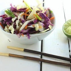 Asian Sesame Slaw Craving Something Healthy