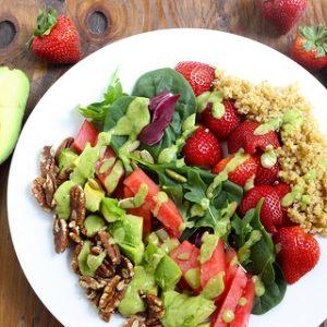 California Power Salad {Meatless Monday}