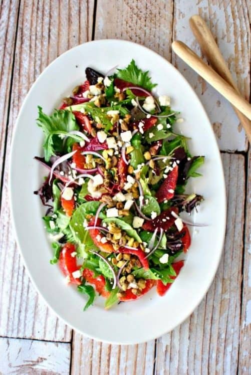 Blood Orange Salad|Simply Scratch