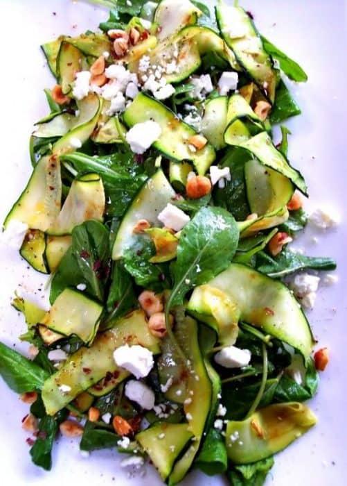 Zucchini Ribbon Salad|Proud Italian Cook