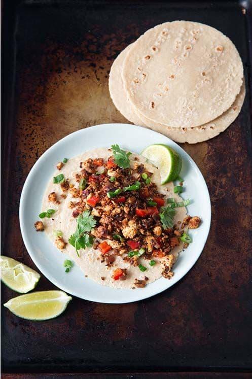 Vegan Chorizo Tacos|Mark Bittman