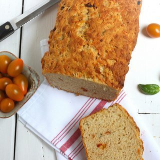 Sun Dried Tomato Parmesan Quick Bread