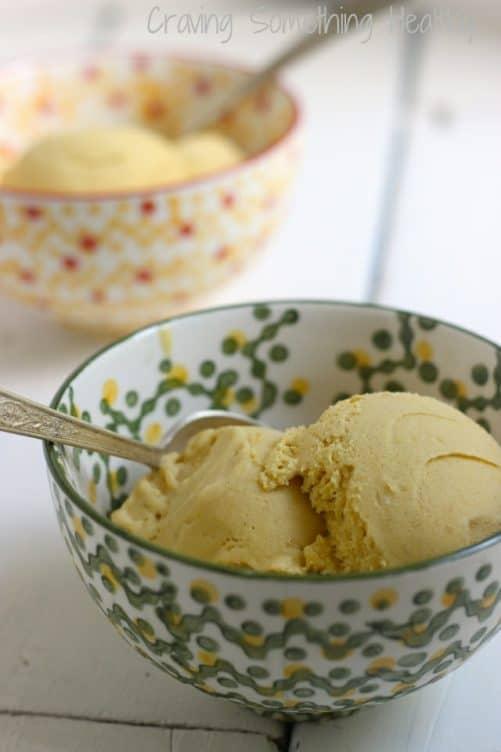 Skinny Mango Chai Ice Cream|Craving Something Healthy