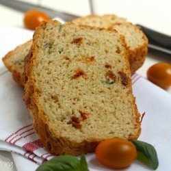 Sun Dried Tomato and Parmesan Quick Bread Craving Something Healthy