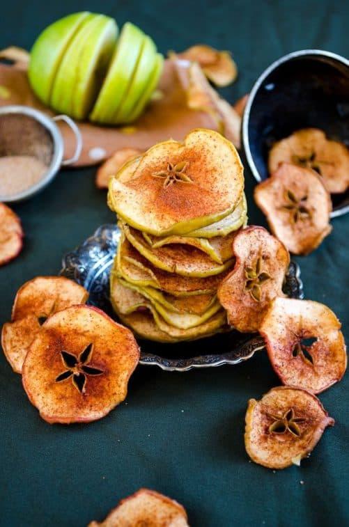 Cinnamon Sugar Apple Chips Give Recipe
