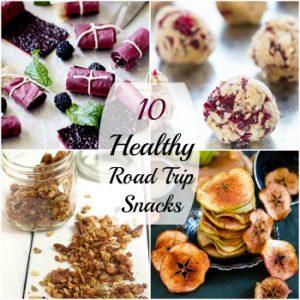 10 Healthy Road Trip Snacks