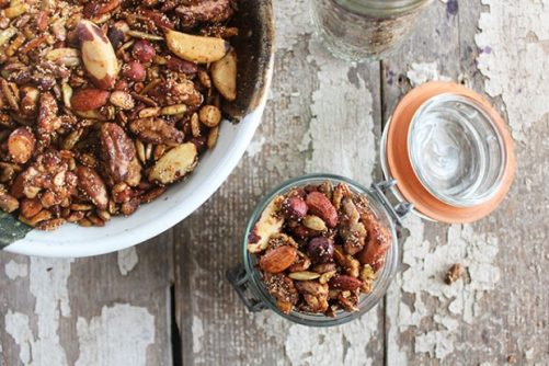 Spicy Sweet Nut Seed Mix Nutrition Stripped