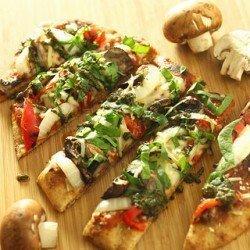 Grilled Vegetable Flatbread Pizza