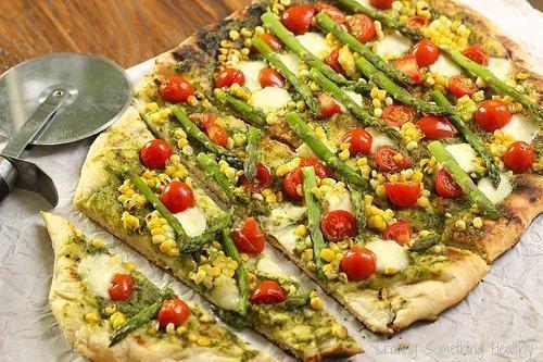 Summer Harvest Grilled Pizza