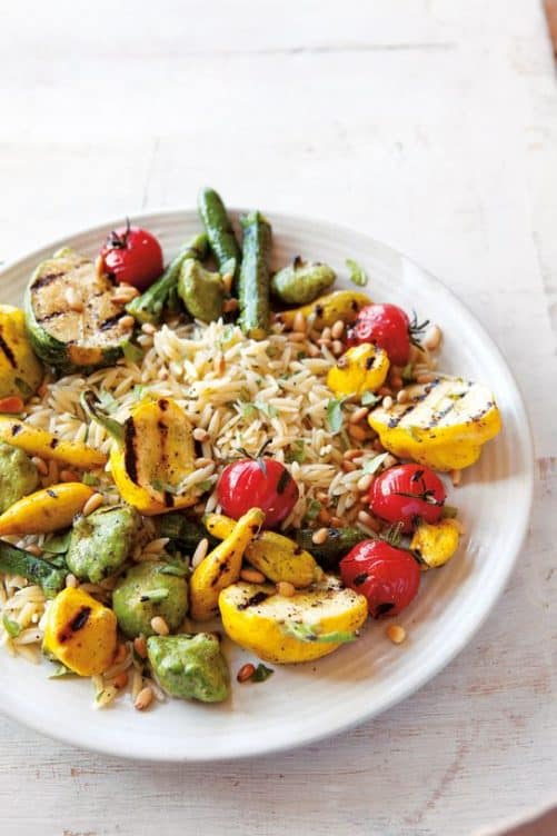 Grilled Squash and Orzo Salad|Williams-Sonoma