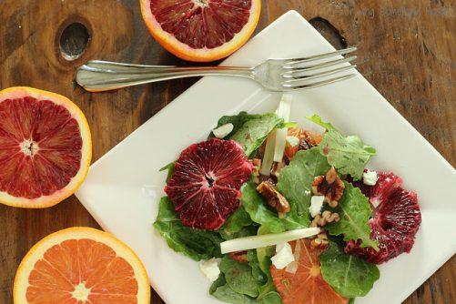 Kale Blood Orange and Fennel Salad|Craving Something Healthy