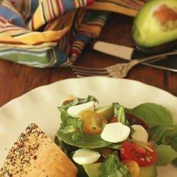 Avocado Caprese Sandwich|Craving Something Healthy