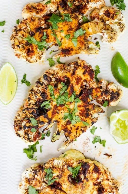Chipotle Lime Grilled Cauliflower Steaks|The Kitchn