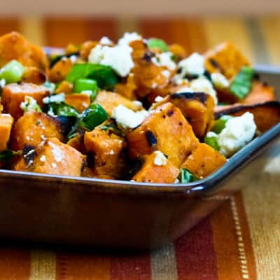Grilled Sweet Potato Salad|Kalyn's Kitchen