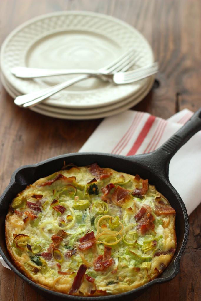 Pasta Carbonara Frittata|Craving Something Healthy