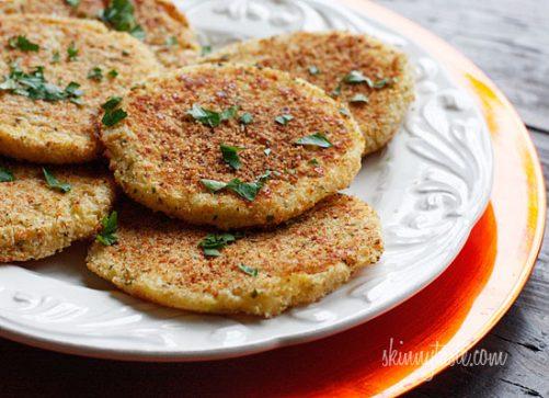 Leftover Parmesan Mashed Potatoes|Skinny Taste