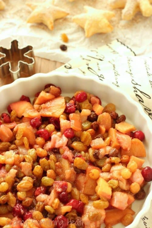 Spiced Winter Fruit Compote Craving Something Healthy