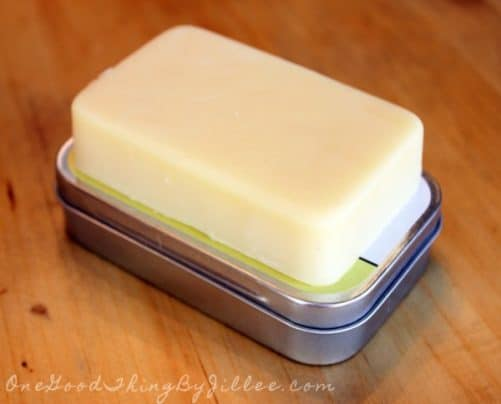 Make Your Own Lotion Bars|One Good Thing By Jillee