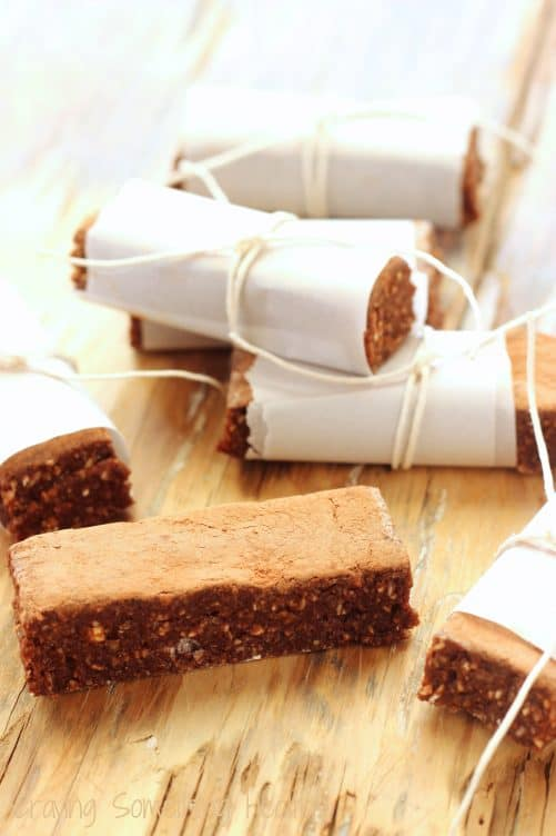 Vegan German Chocolate Energy Bars|Craving Something Healthy