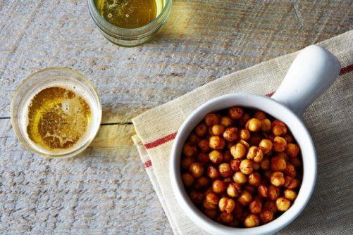 Cajun Style Roasted Chickpeas|Food52
