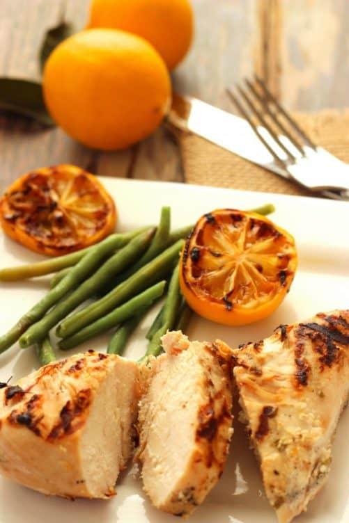 Lemon Garlic & Rosemary Marinade|Craving Something Healthy