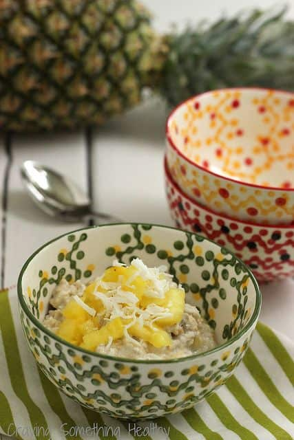 Pina Colada Overnight Oats Craving Something Healthy