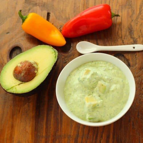 Green Goddess Fresh Vegetable Dip