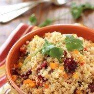 Cranberry Cilantro Quinoa Salad|Craving Something Healthy