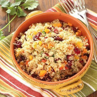 Cranberry Cilantro Quinoa Salad {Meatless Monday}