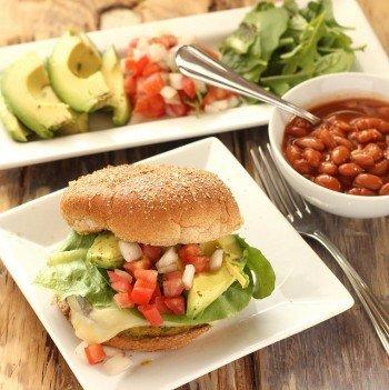 Southwest Veggie Burgers