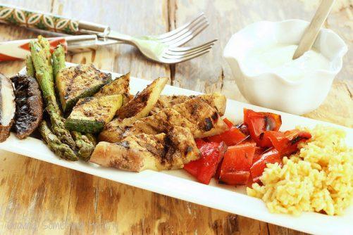 Jamaican Jerk Grilled Vegetables|Craving Something Healthy