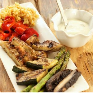 Jamaican Jerk Grilled Vegetables