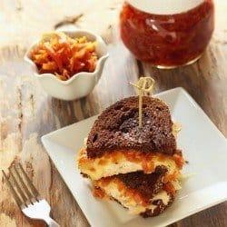 Smoked Turkey Reuben Sandwich with Golden Sauerkraut|Craving Something Healthy
