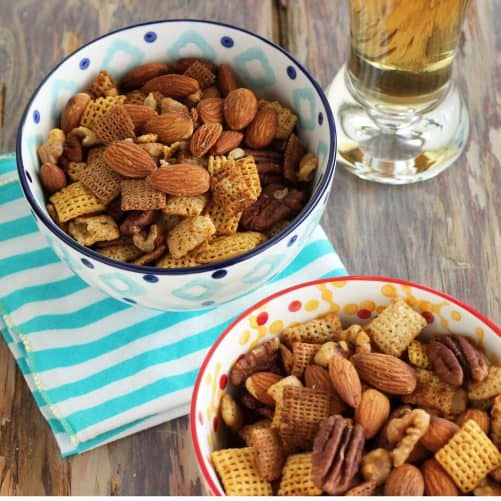 Tex-Mex Nuts and Chex {Recipe ReDux}