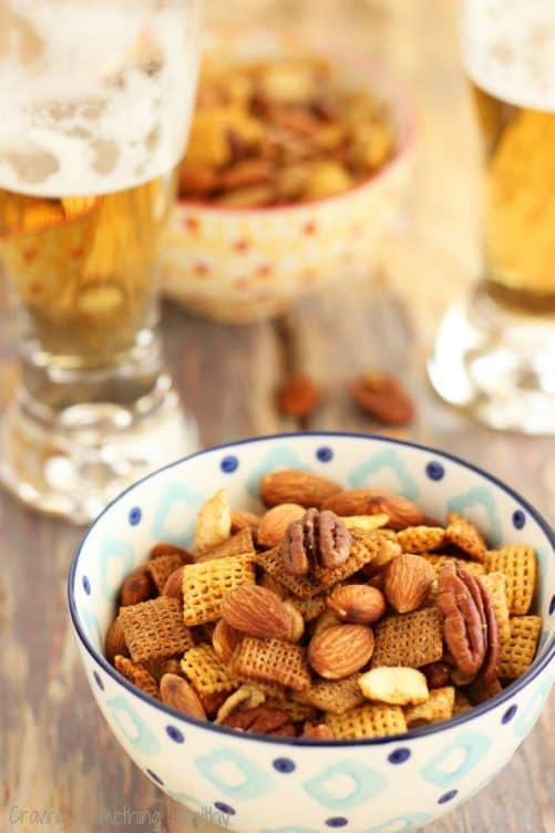 Nutty Tex Mex Chex Snack|Craving Something Healthy