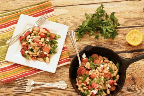 Roasted Radish and White Bean Salad|Craving Something Healthy