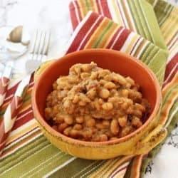 Crock-pot Boston Baked Beans