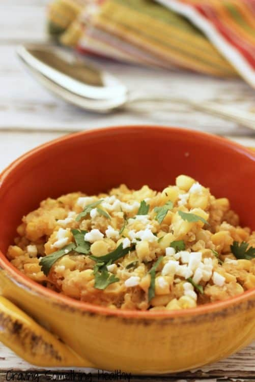 Mexican Street Corn and Quinoa|Craving Something Healthy