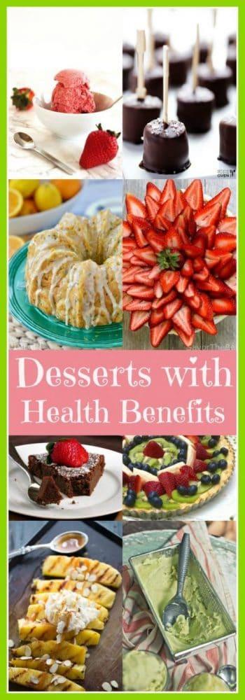 Desserts with (Health) Benefits