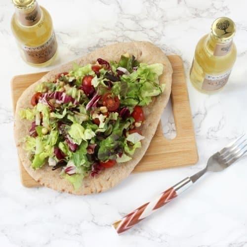 Chopped BLT Salad Pizza {Recipe ReDux}