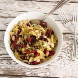 5 Bean Salad with Sweet Vinaigrette {Recipe ReDux}