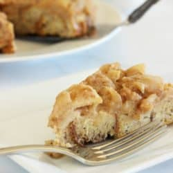 Apple Cinnamon Upside Down French Toast