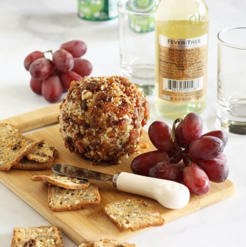 Apricot Pecan and Honey Goat Cheese Ball|Craving Something Healthy