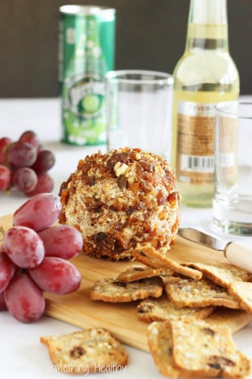 Apricot Pecan Goat Cheese Ball|Craving Something Healthy