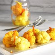 Turmeric & Ginger Pickled Cauliflower