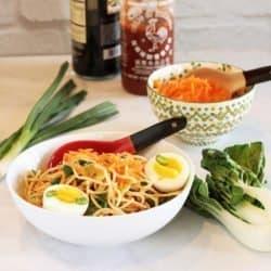Super-Simple Homemade Peanut Ramen Noodles|Craving Something Healthy